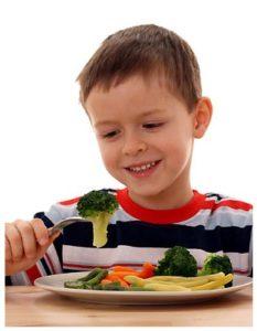 Ventajas de buenas comidas para niños
